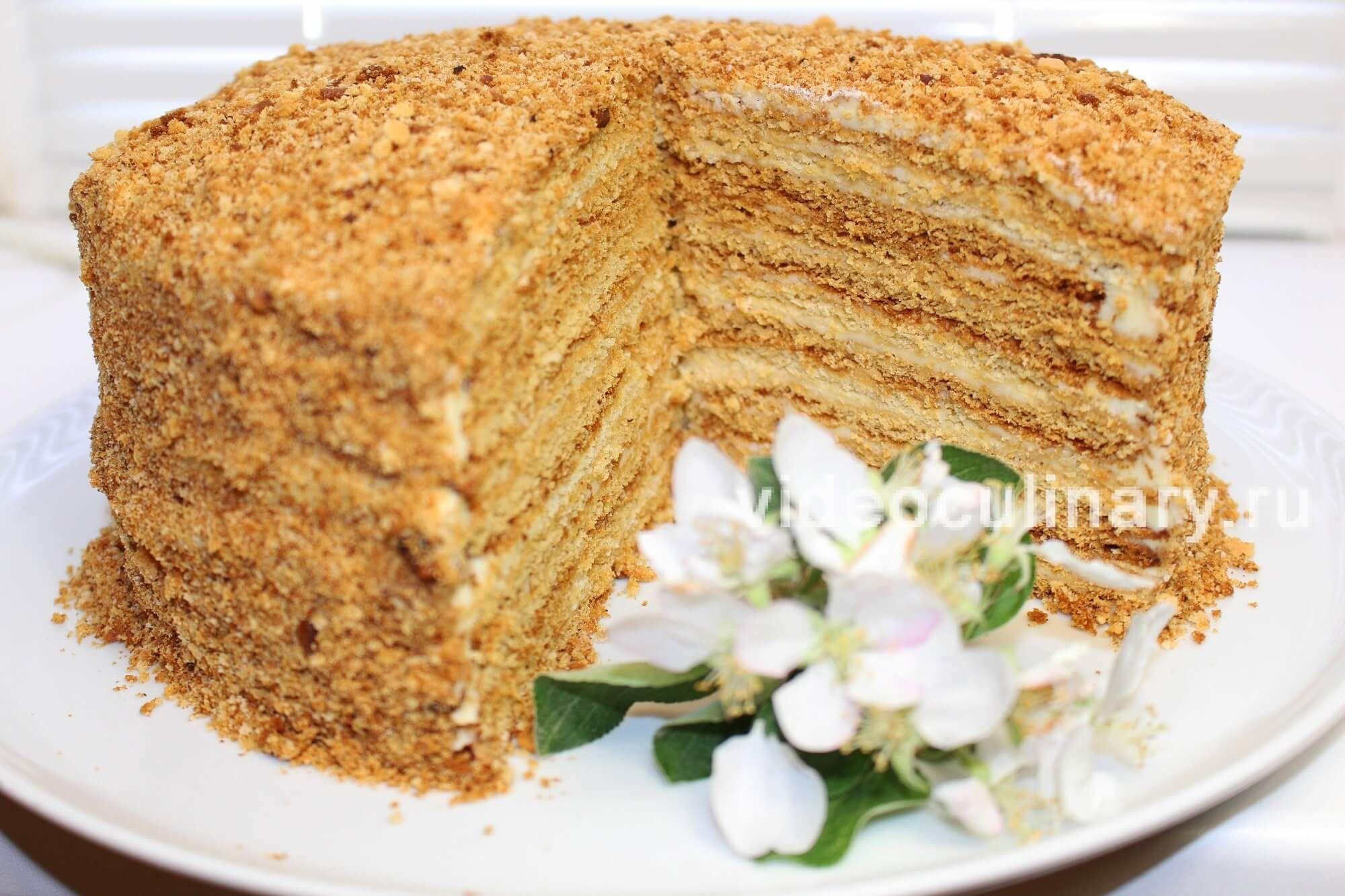 Вкусные торты на сгущенке. рецепт