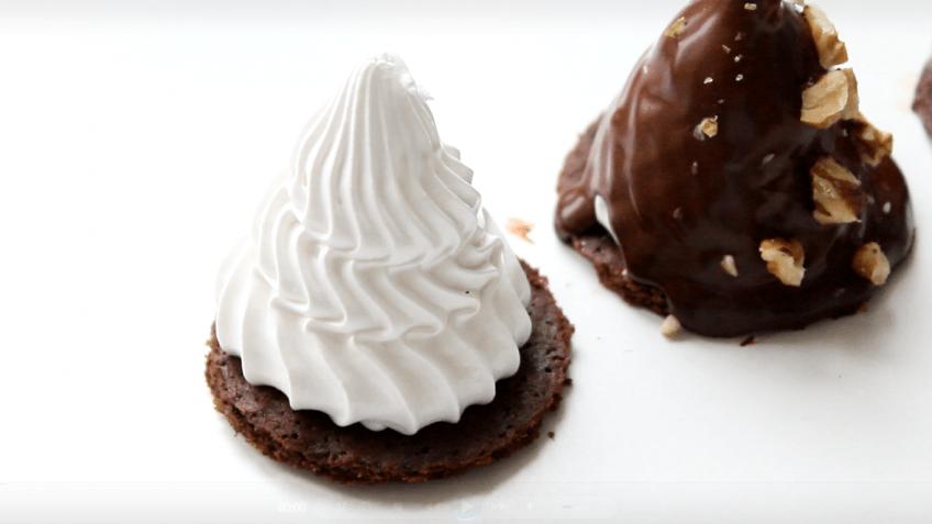 Меренга под шоколадом