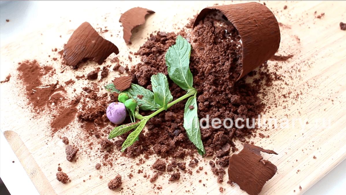 Мамин любимый цветок - рецепт десерта от Alex Milana