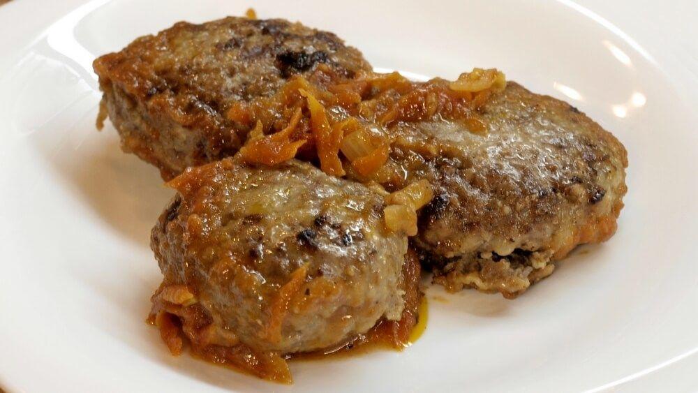 Гречаники с мясом