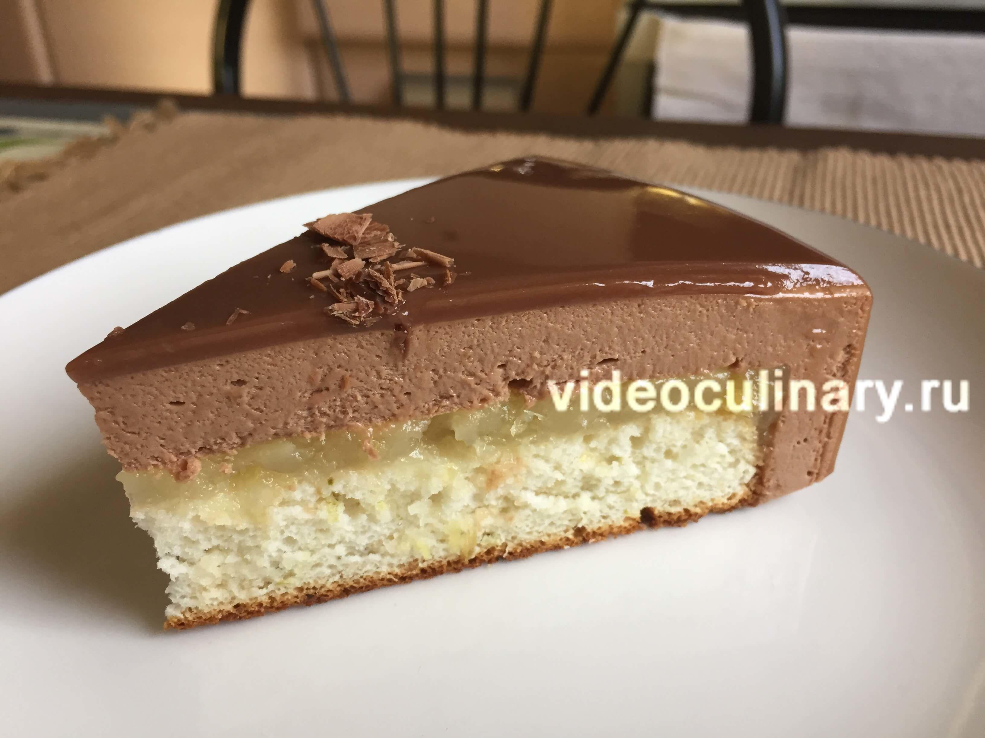 Муссовый торт Шоколад-имбирь-лайм