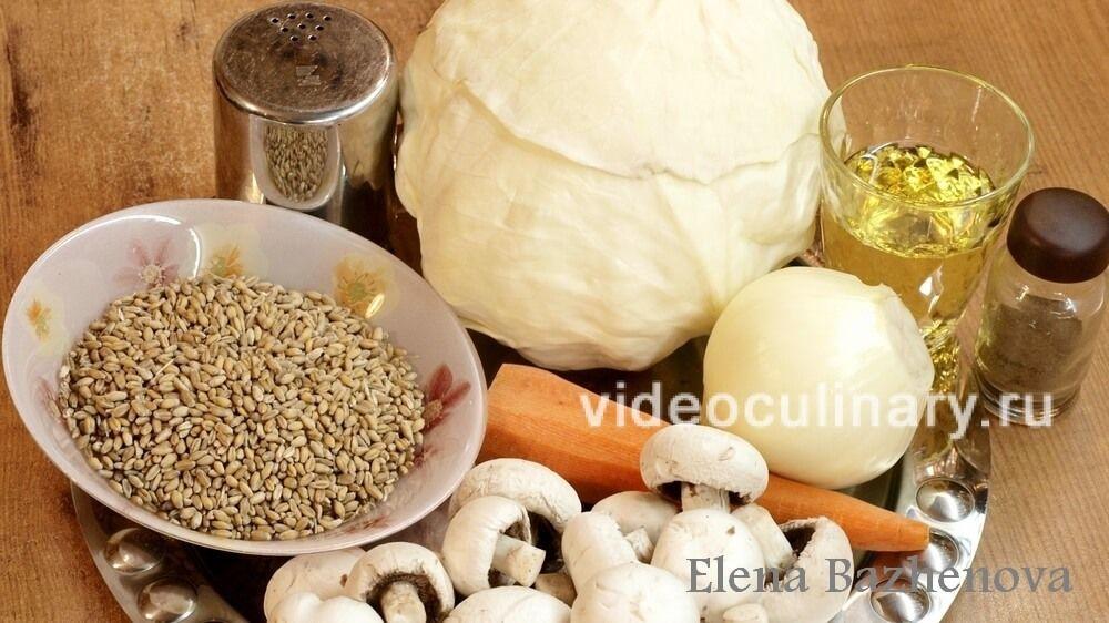 Lenten cabbage rolls 1