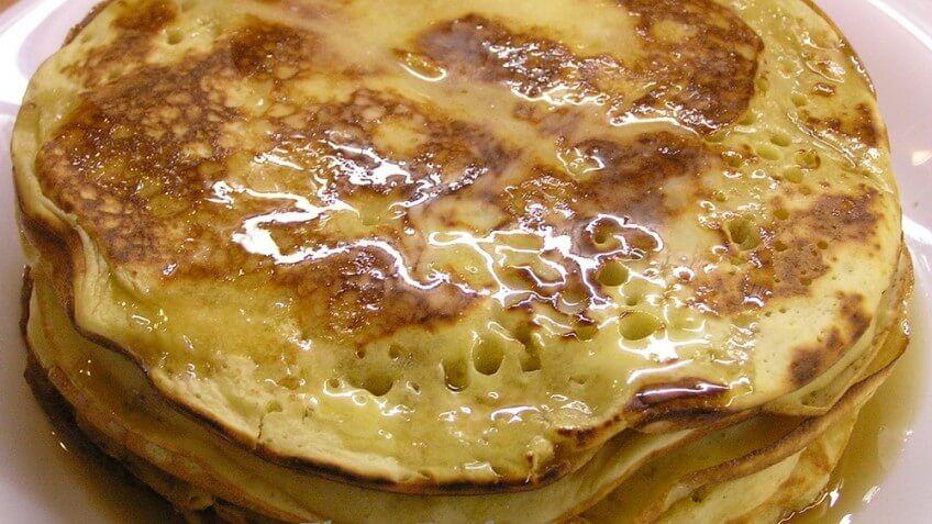 Sour cream pancakes 2