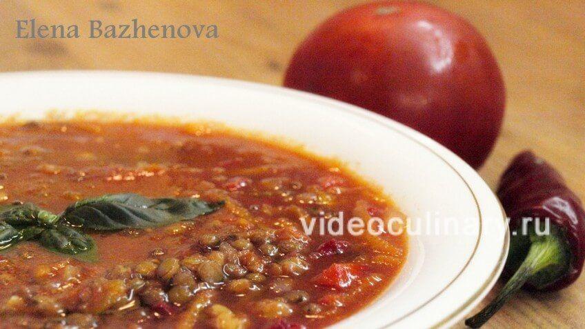 Tomato-lentil soup 2