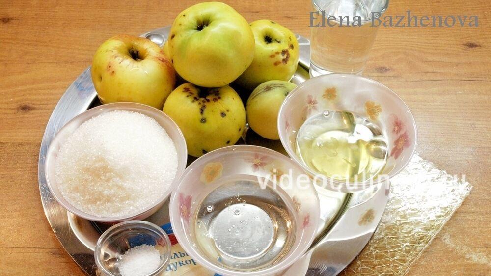 Ингредиенты Зефир на желатине