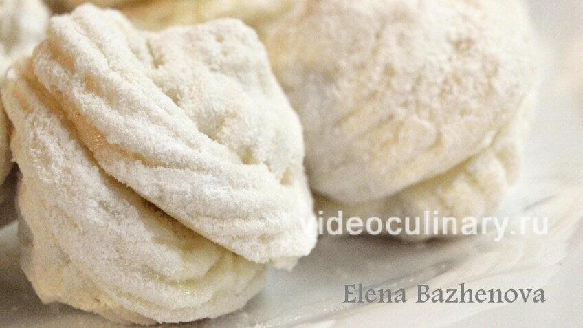 Зефир на желатине рецепт с пошагово