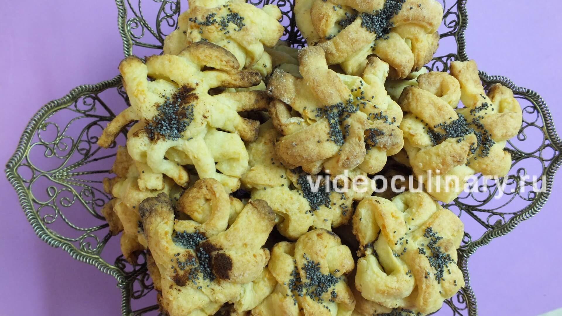 Творожное печенье Осьминожки