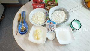 Ингредиенты Творожное печенье Осьминожки