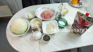 Ингредиенты Фаршированная капуста
