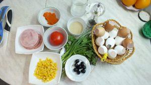 """Ингредиенты Заливные яйца """"Фаберже"""""""
