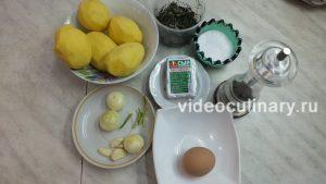 Ингредиенты Котлеты картофельные