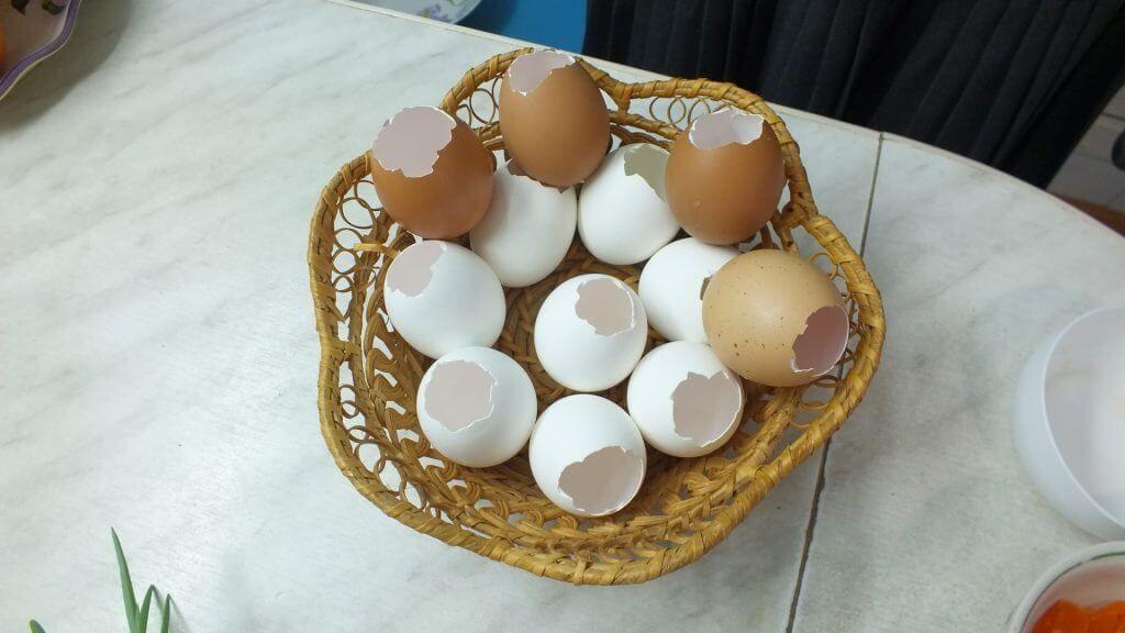 Яйца в скорлупе рецепт
