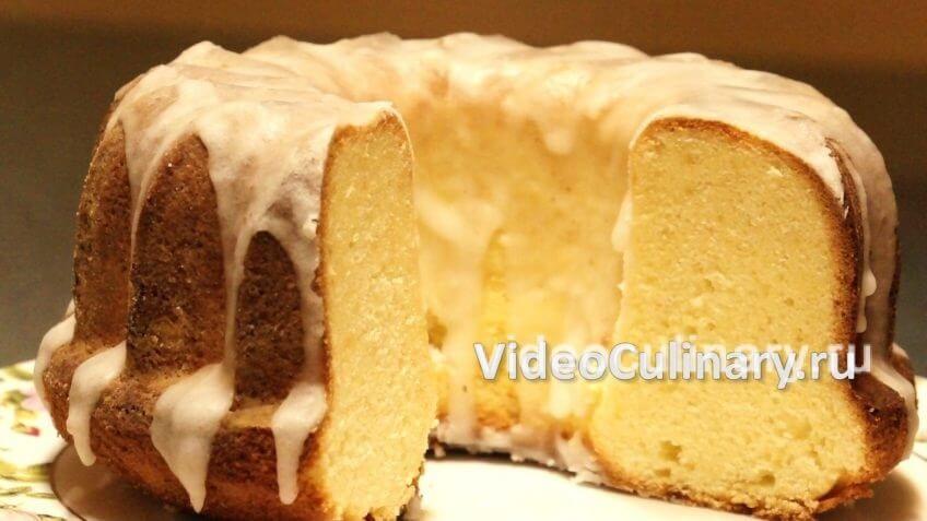 Классический лимонный кекс