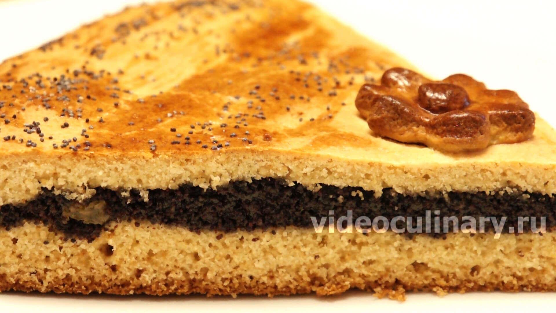 Медовый пирог с маком