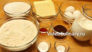 Ингредиенты Шоколадный торт Поляна