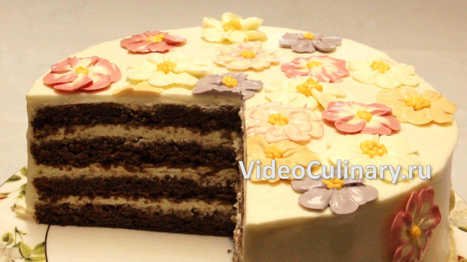Шоколадный торт Поляна