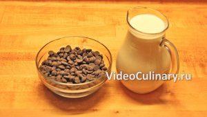 Ингредиенты Простой шоколадный крем Ганаш