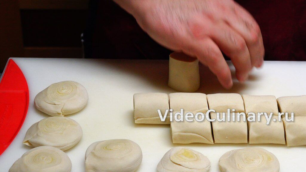 Слоеное тесто для самсы рецепт