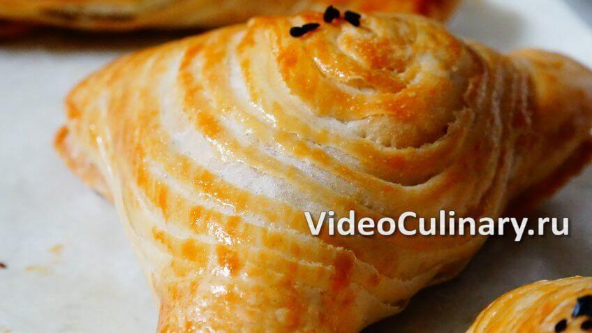 Как правильно замести слоенное тесто для самсы