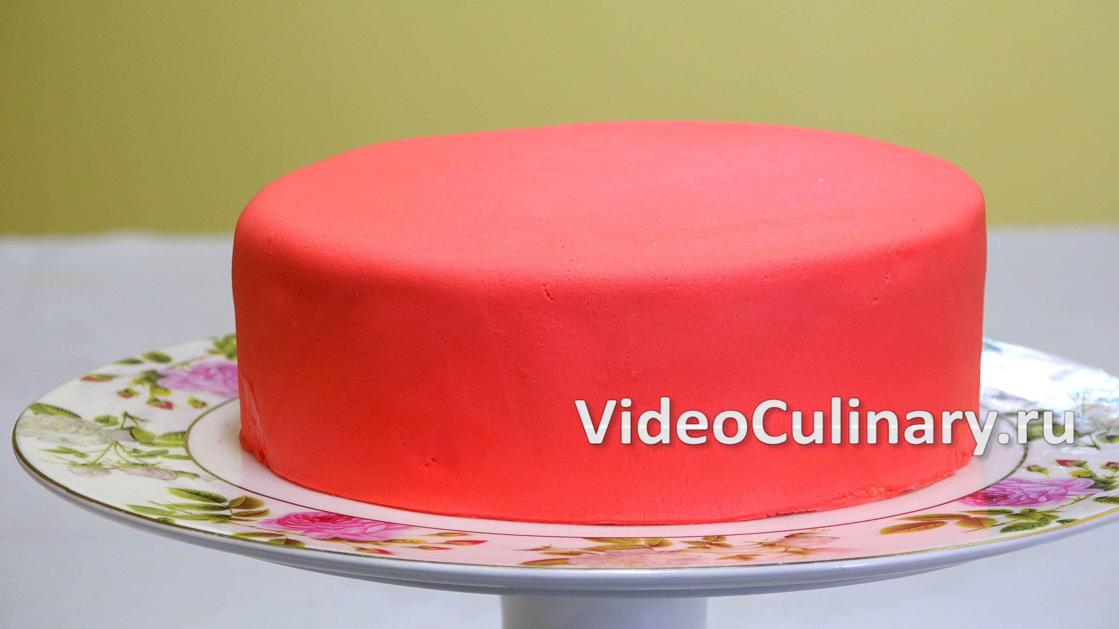 Как сделать мастику для торта своими руками в домашних условиях видио