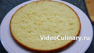 Рецепт бисквитного коржа для торта с фото