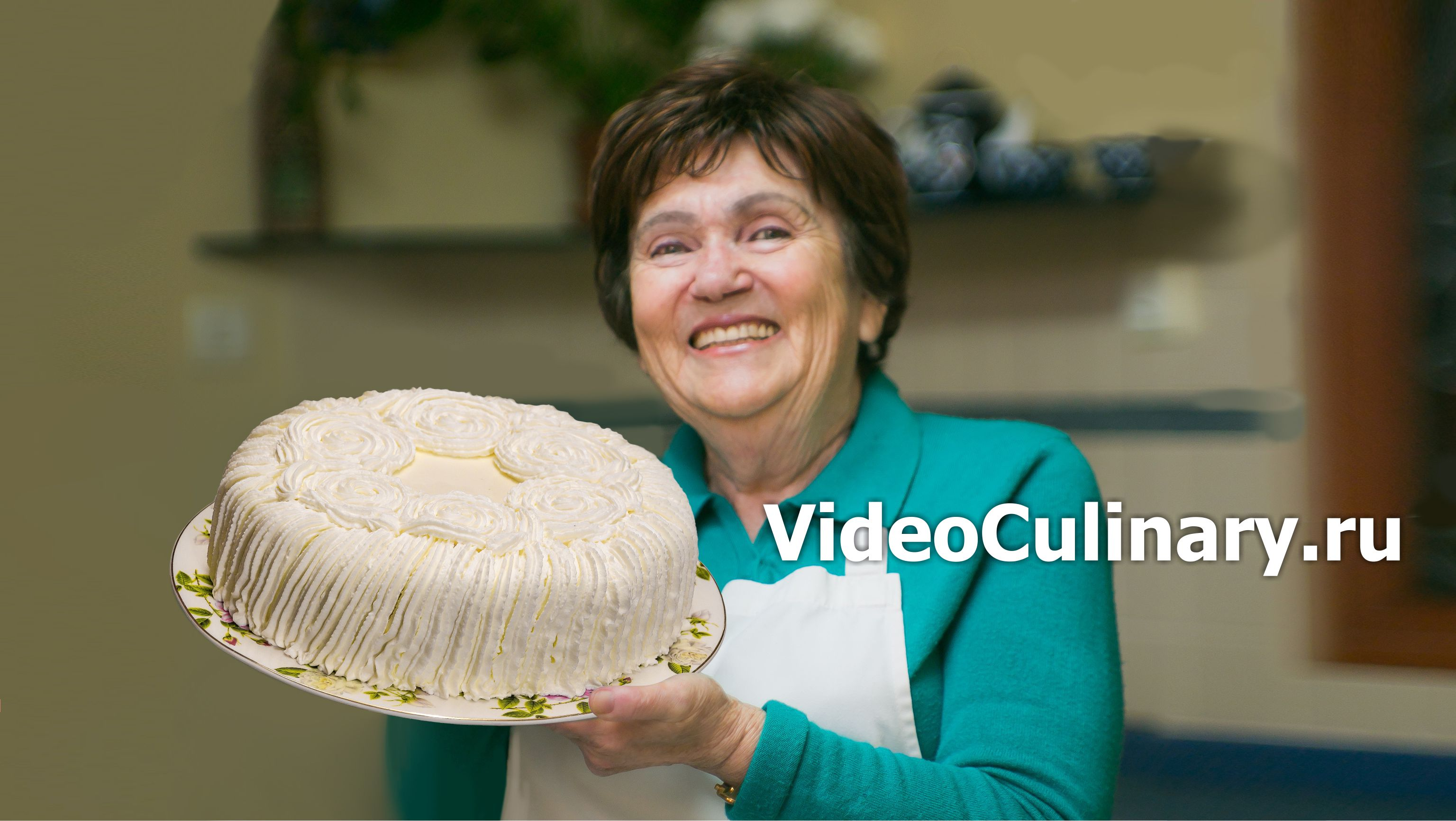 Простой бисквитный торт Маскарпоне