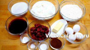 Ингредиенты Торт Панчо с вишней