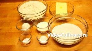 Ингредиенты Расписное новогоднее печенье