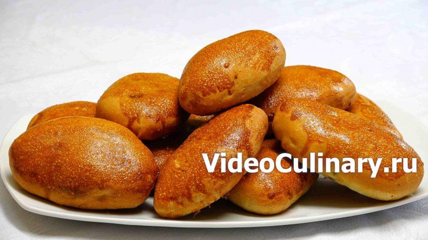 Пирожки с ливером, запечённые в духовке