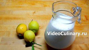 Ингредиенты Сыр Маскарпоне за 5 минут
