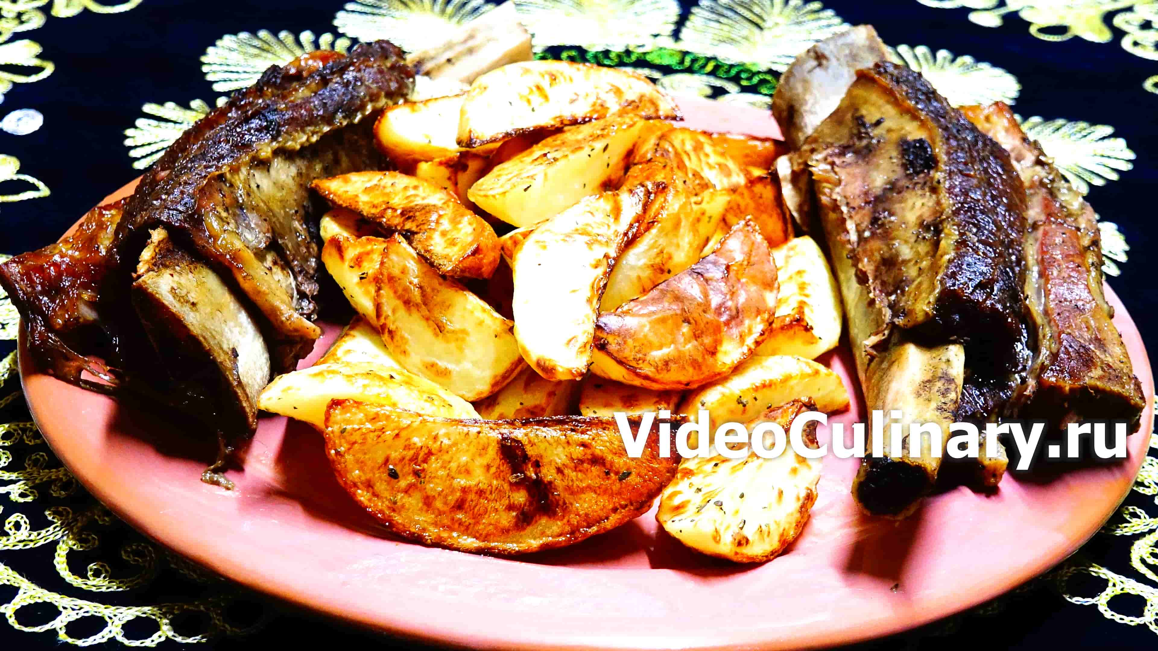 Рецепты пошагово говяжьи ребрышки 134