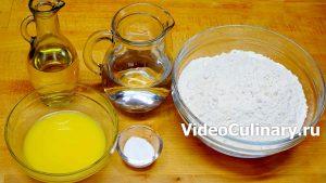 Ингредиенты Узбекские слоёные лепёшки Катлама