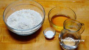 Ингредиенты Простое тесто для самсы